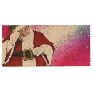 Pen Drive HAMbWG - flash de USB - Papai Noel