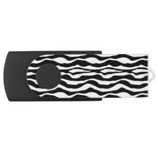 Pen Drive Impressão chique USB da zebra