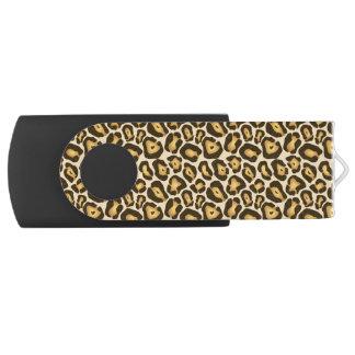 Pen Drive Impressão chique USB do leopardo