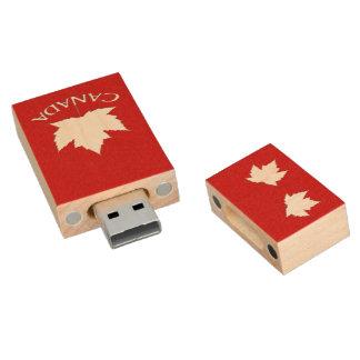 Pen Drive Lembrança de Canadá da movimentação do flash da