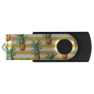 Pen Drive listras amarelas dos pinepples