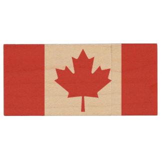Pen Drive Movimentação canadense do flash de USB da bandeira