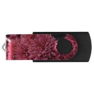 Pen Drive movimentação cor-de-rosa do usb da flor