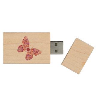 Pen Drive Movimentação do flash da borboleta do