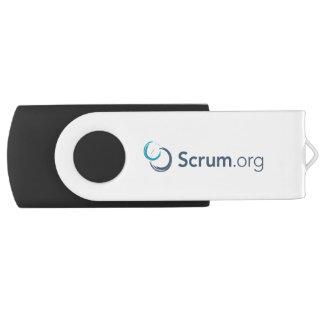 Pen Drive movimentação do flash de Scrum.org USB