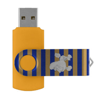 Pen Drive Movimentação do flash de USB da caniche