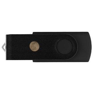 Pen Drive Movimentação do flash de USB da Lua cheia