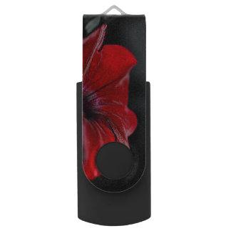 Pen Drive movimentação vermelha do usb da flor 16 gb