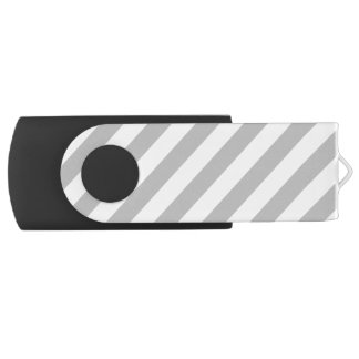Pen Drive Teste padrão diagonal do cinza e o branco das