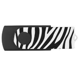Pen Drive Teste padrão preto e branco das listras do