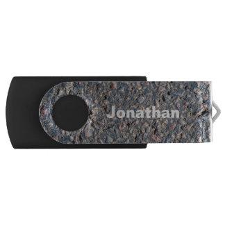 Pen Drive Textura do asfalto e dos seixos