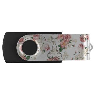 Pen Drive Vestido elegante adorável, floral