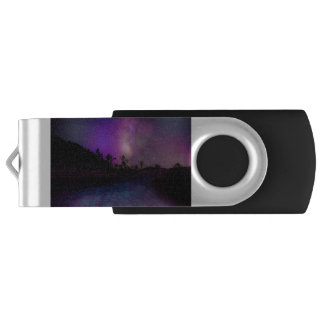 Pen Drive Via Láctea do parque nacional de árvore de Joshua