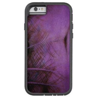 Pena da avestruz capa tough xtreme para iPhone 6