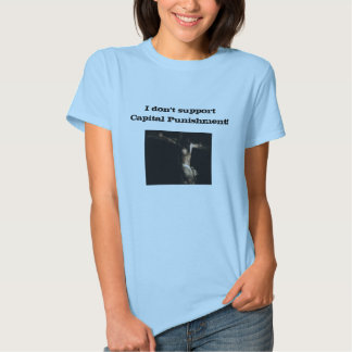 Pena de morte camisetas