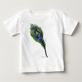 Pena do pavão tshirts