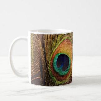 Pena gloriosa 4Willie do pavão Caneca De Café