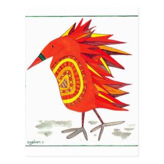 Pena Grânulo-Inchada cartão do bloco do pássaro de
