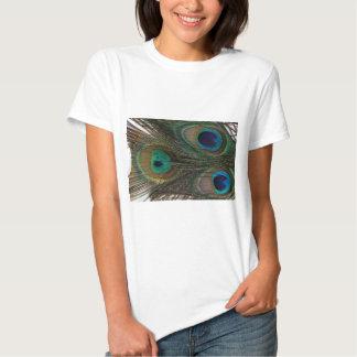Pena lindo do pavão t-shirt