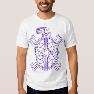 Pena para uma tartaruga t-shirts