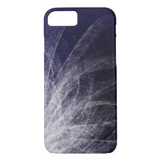 Penas cianas da textura - capas de iphone de Apple