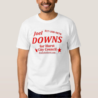 penas do joel para o conselho do hurst camisetas