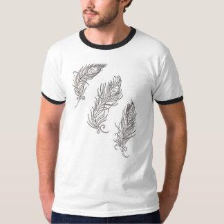 Penas do pavão tshirt