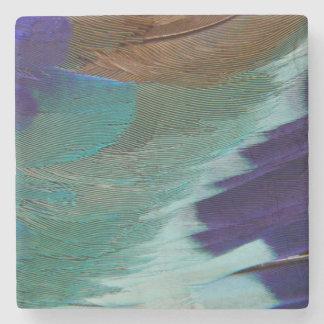 Penas do rolo de Breasted do Lilac Porta Copos De Pedras
