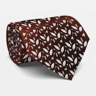 Penas e setas 2 gravata