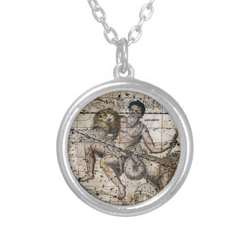 Pendente do sinal do zodíaco do Capricórnio Bijuteria