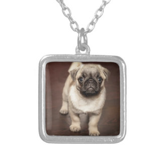 Pendente pequeno da colar do ouro do cão bonito