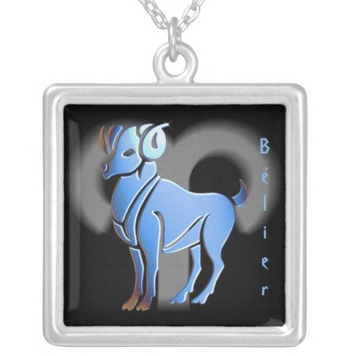 Pendentif signe du zodíaco Bélier Bijuteria Personalizada
