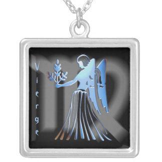 Pendentif signe du zodíaco Vierge Bijuteria Personalizada