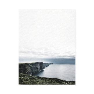 Penhascos de Moher, canvas da fotografia do viagem