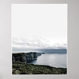 Penhascos de Moher, poster de Photograhy do viagem