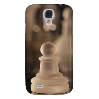 Penhor de cristal de luxe da xadrez (cores galaxy s4 cover