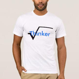 Pensador radical (preto) tshirts