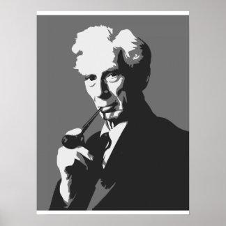 Pensadores - Bertrand Russell Impressão