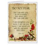 Pensamento de você: 41:10 de Isaiah, arte original Cartao