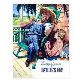 Pensamento de você no dia dos pais. Cartão
