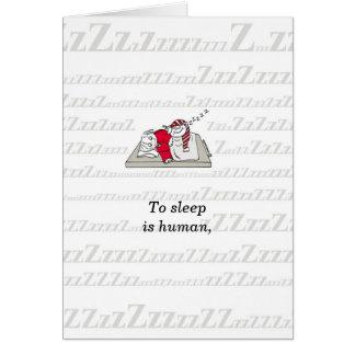 """""""Pensando de você"""" ou da amizade Cartão Comemorativo"""