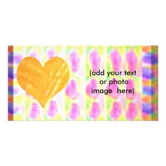 Pense a série de Pnk Cartão Com Foto