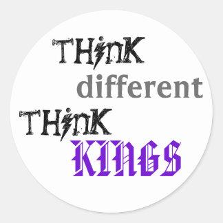 pense, diferente, pense, REIS Adesivo