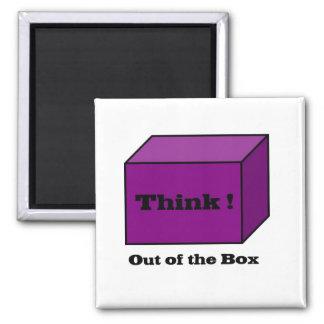 Pense fora da caixa imas