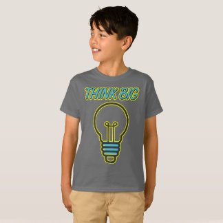 Pense grande! Camisa dos miúdos