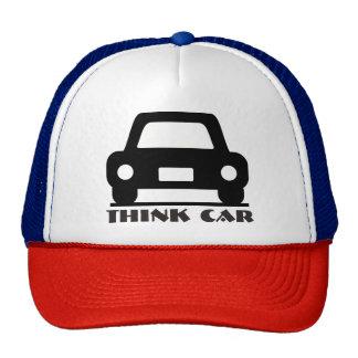 Pense o chapéu/boné Funky do carro Boné