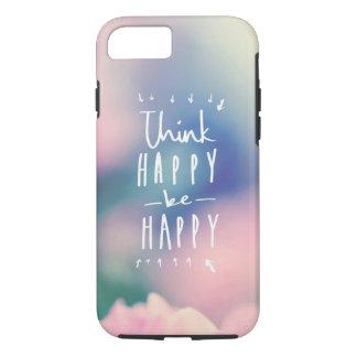 """Pense ""o iPhone feliz 7 de Apple, capa de"