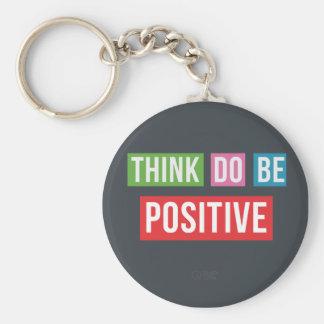 Pense que o positivo faz o positivo seja chaveiro