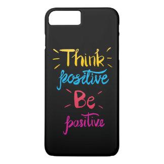 Pense que o positivo seja capa de telefone
