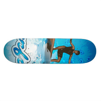 Pensionista do surf skates personalizados